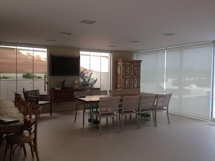 Área de lazer VP: Terraços  por A3 Arquitetura