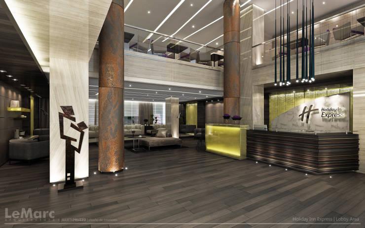 Hall Area: Hoteles de estilo  por Estudio JP