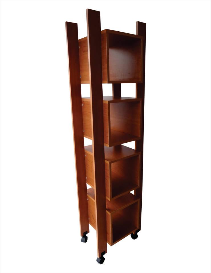 Librero NK de ecstudio Moderno Aglomerado