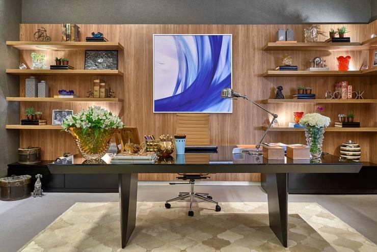 Oficinas de estilo  por Lider Interiores