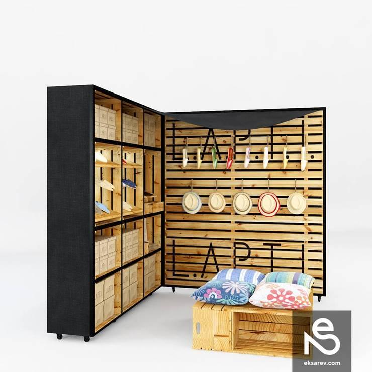 Marketpoint <q>Lapti</q>:  в . Автор – Studio Eksarev & Nagornaya