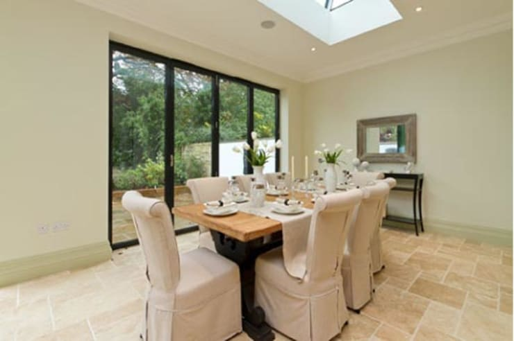 Mercier Road, Putney:  Dining room by Concept Eight Architects