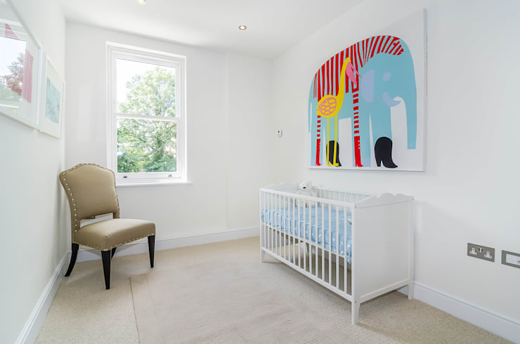 modern Nursery/kid's room by Concept Eight Architects