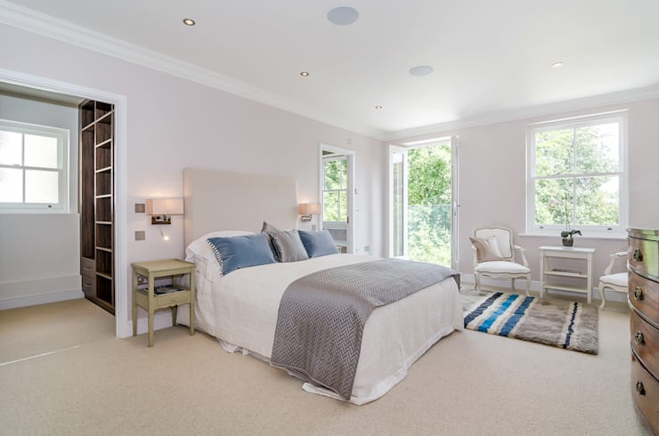 Oakhill Road, Putney:  Bedroom by Concept Eight Architects