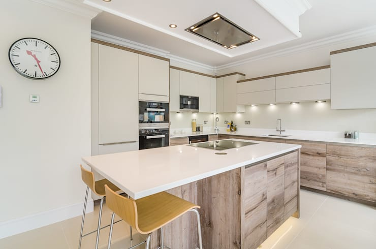 Oakhill Road, Putney:  Dining room by Concept Eight Architects