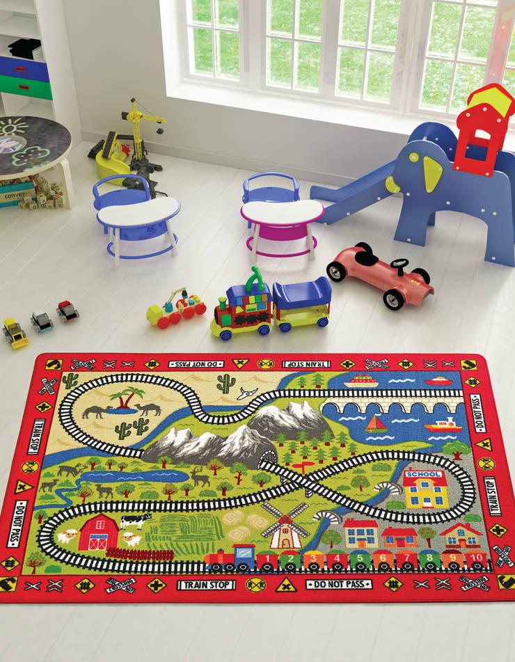 CONFETTI – RAILWAY: modern tarz Çocuk Odası