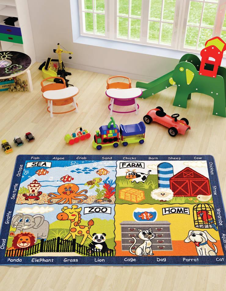 CONFETTI – ANIMAL WORLD: modern tarz Çocuk Odası