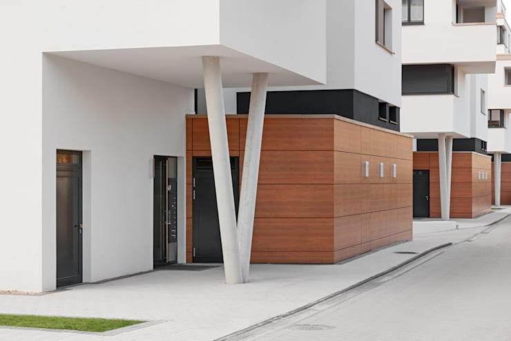 Projekty,  Okna zaprojektowane przez arc architekturconzept GmbH