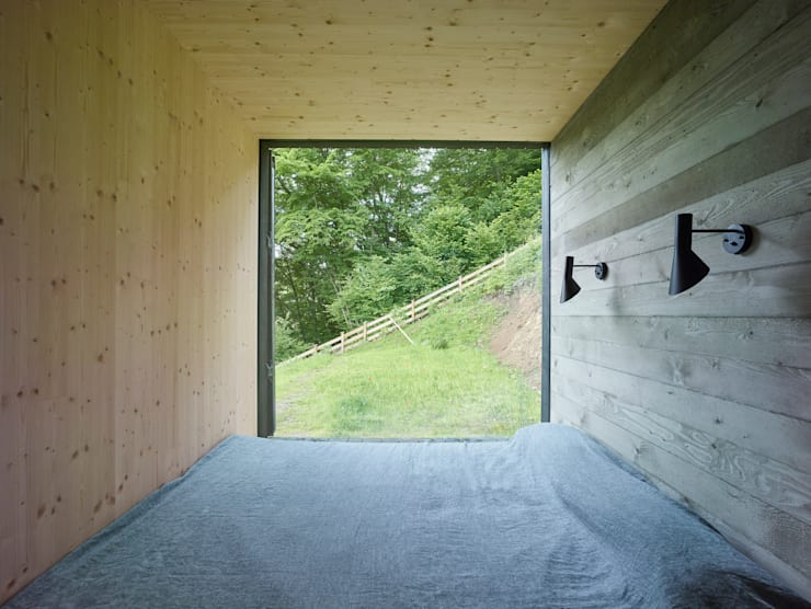 Bedroom by Backraum Architektur
