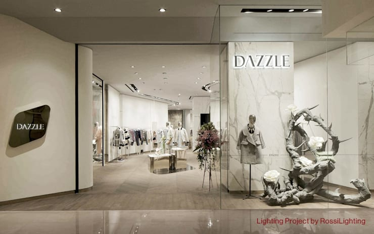 Nuova illuminazione per dazzle shanghai by rossi lighting design
