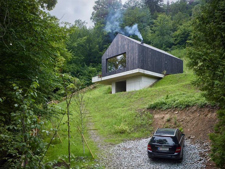 Projekty,  Domy zaprojektowane przez Backraum Architektur