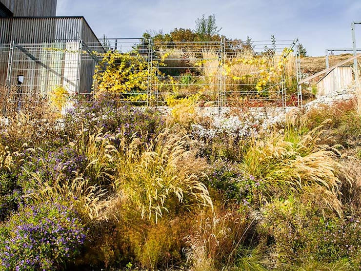 Jardines de estilo  por Kräftner Landschaftsarchitektur