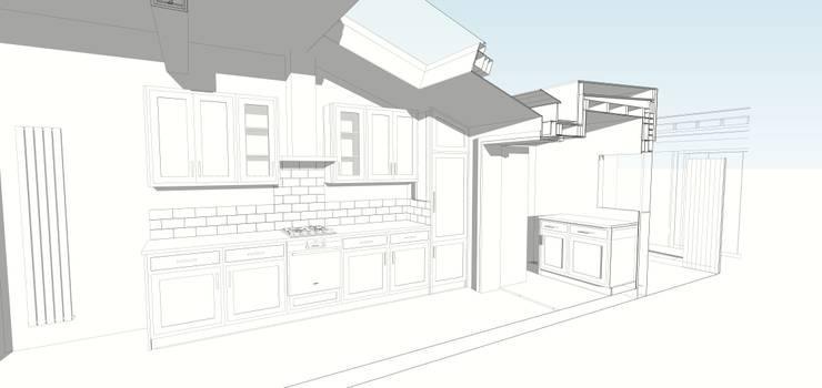 Nhà bếp by Francis Garner Architects