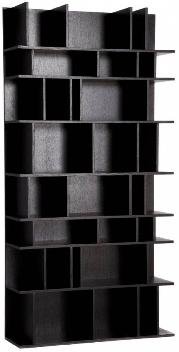 Стеллаж Element Black: Гостиная в . Автор – DG Home