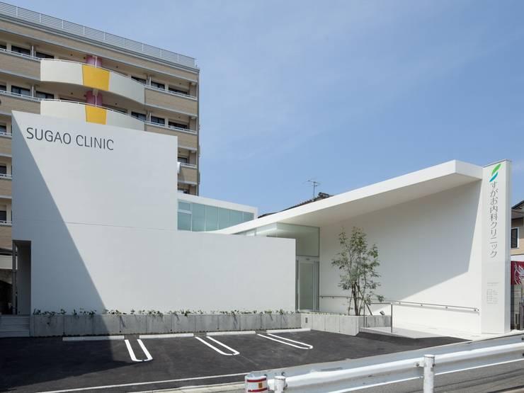 外観: 有限会社Y設計室が手掛けた医療機関です。