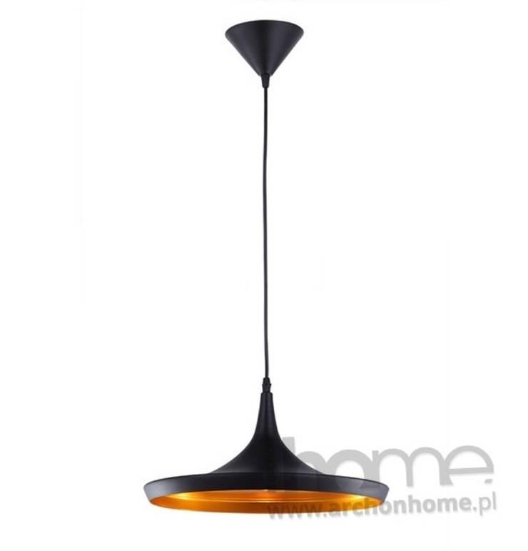 Lampa TUBA 10: styl , w kategorii Salon zaprojektowany przez ArchonHome.pl