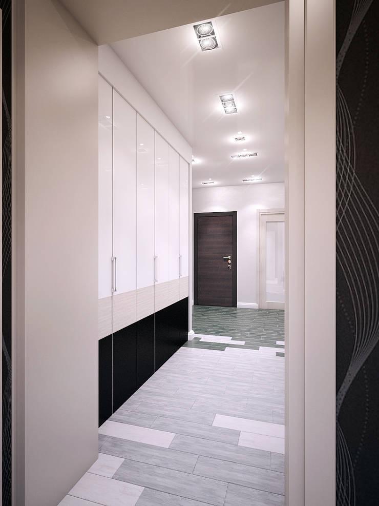Квартира в Новомосковске: Ванные комнаты в . Автор – Алина  Насонова,