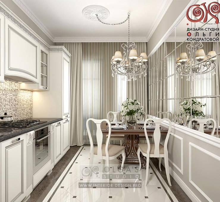Современная идея дизайна кухни-столовой в квартире: Кухни в . Автор – Olga's Studio