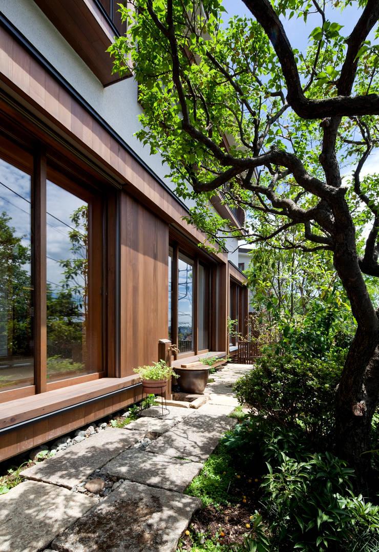 神木本町の家: 向山建築設計事務所が手掛けた家です。,