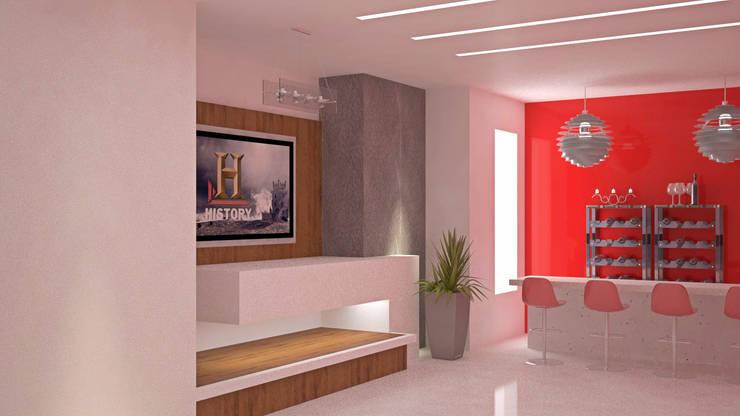 CASA SAAVEDRA: Salas de estilo  por Design Arquitectos