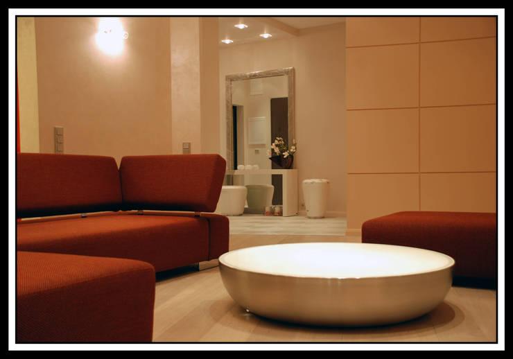 Квартира на Ульянова: Гостиная в . Автор – Дизайн-студия «ARTof3L»
