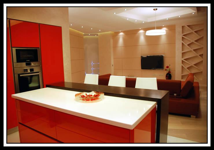 Квартира на Ульянова: Кухни в . Автор – Дизайн-студия «ARTof3L»