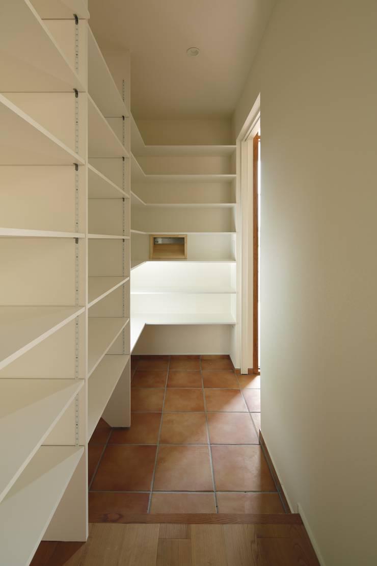Closets de estilo moderno de 向山建築設計事務所 Moderno