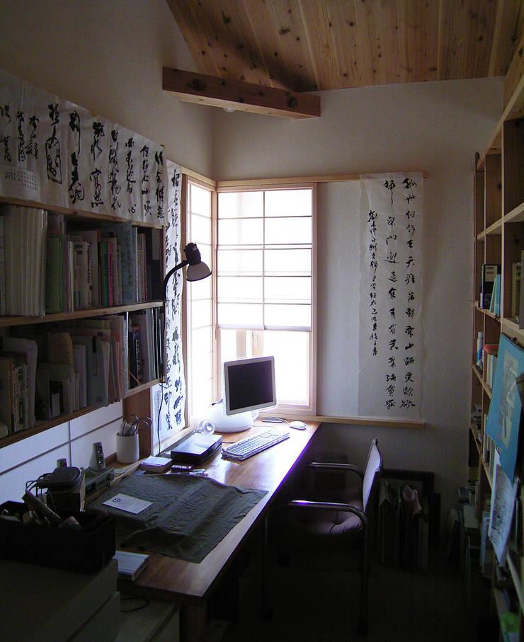書斎: 計画工房 辿が手掛けた書斎です。,