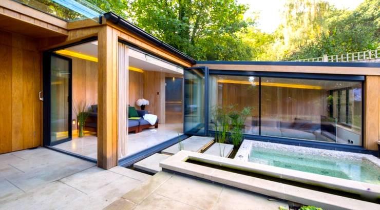 Jardins modernos por Paul Marie Creation