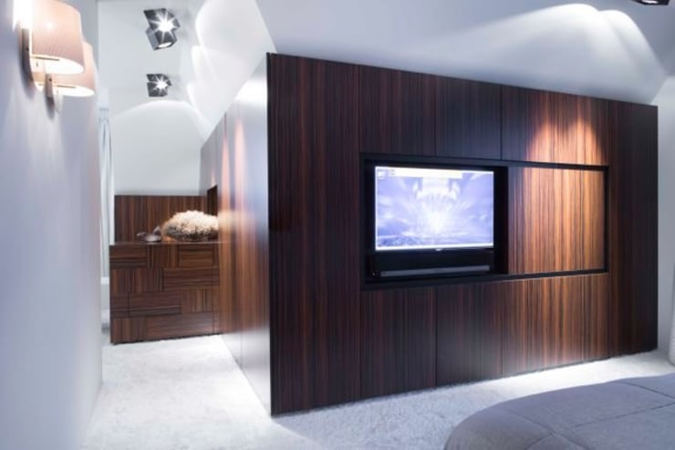 Slaapruimte:  Slaapkamer door Smeele | ontwerpt & realiseert