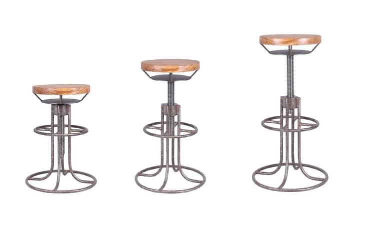 Hoker Loft II : styl , w kategorii Bary i kluby zaprojektowany przez Rekoforma,Industrialny Matal