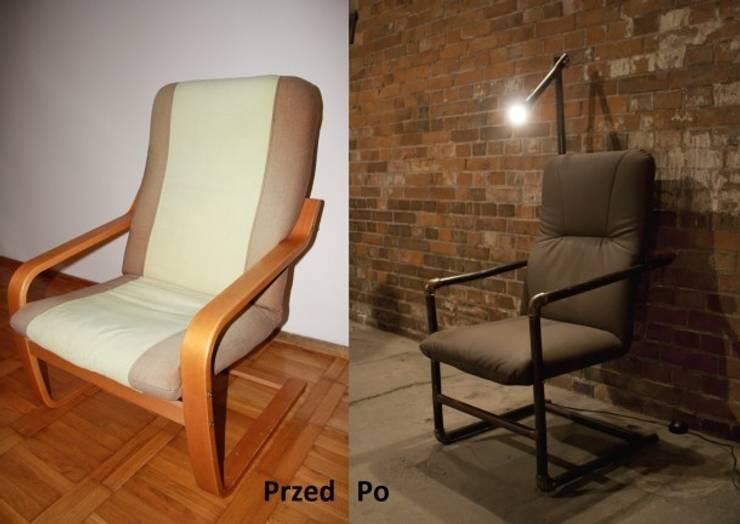 Fotel Industrialny: styl , w kategorii  zaprojektowany przez Rekoforma,
