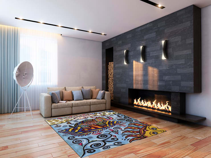 Living room by ¡Colorista Moderna!