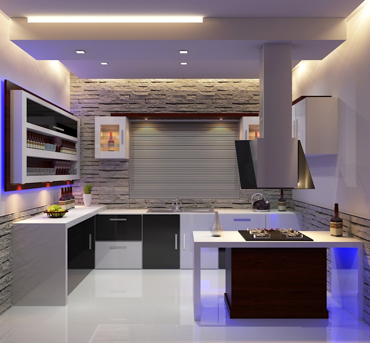 Modern Kitchen: modern Kitchen by Nimble Interiors