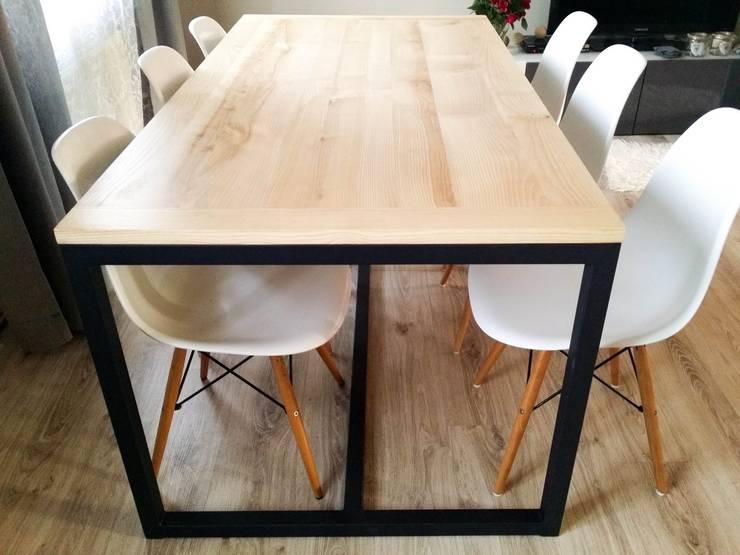 Pracownia Blaise Handmade Furniture : styl , w kategorii Jadalnia zaprojektowany przez Blaise Handmade Furniture,