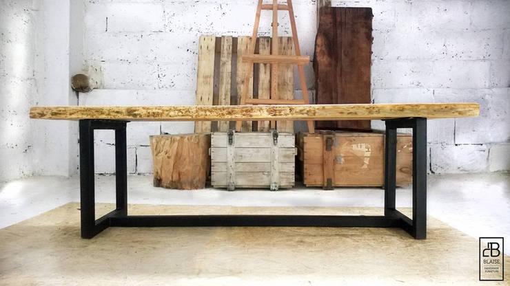 Pracownia Blaise Handmade Furniture : styl , w kategorii Jadalnia zaprojektowany przez Blaise Handmade Furniture