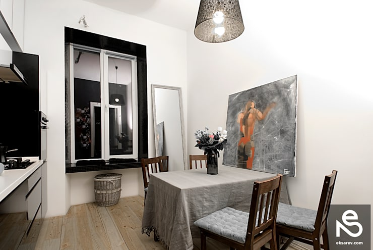 Apartment – Kanatnaja street: Кухни в . Автор – Studio Eksarev & Nagornaya