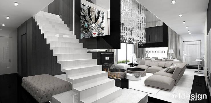 Koridor & Tangga Modern Oleh ARTDESIGN architektura wnętrz Modern