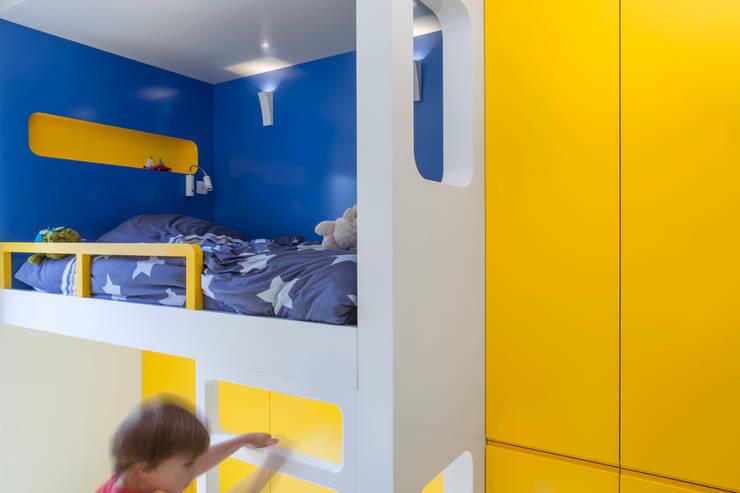 Agence Glenn Medioniが手掛けた子供部屋