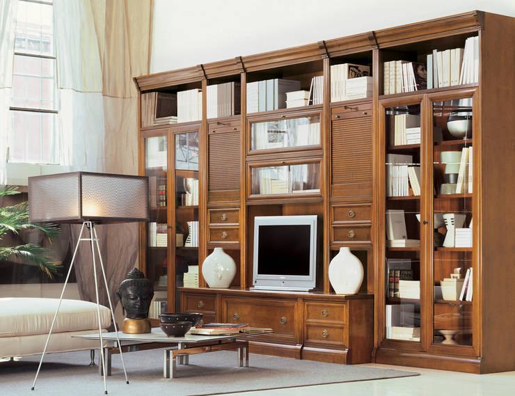 Projekty,  Salon zaprojektowane przez Le Fablier