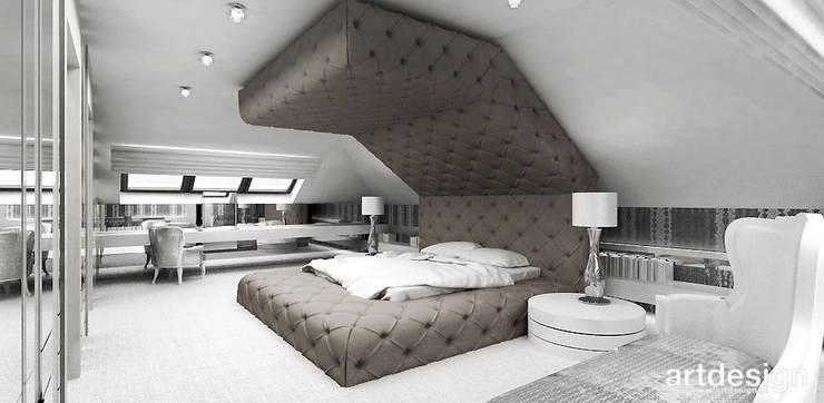 Slaapkamer door ARTDESIGN architektura wnętrz
