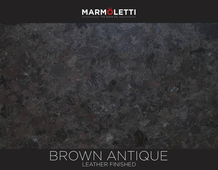 Granito Brown Antique: Cocinas de estilo  por MARMÖLETTI