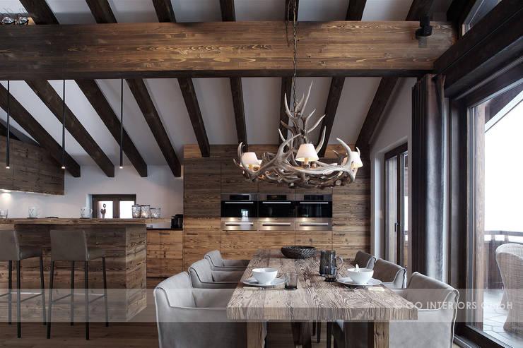Столовые комнаты в . Автор – Go Interiors GmbH
