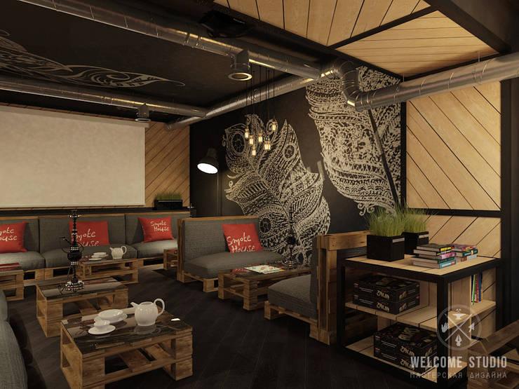 Кальянная ракурс 3: Бары и клубы в . Автор – Мастерская дизайна Welcome Studio