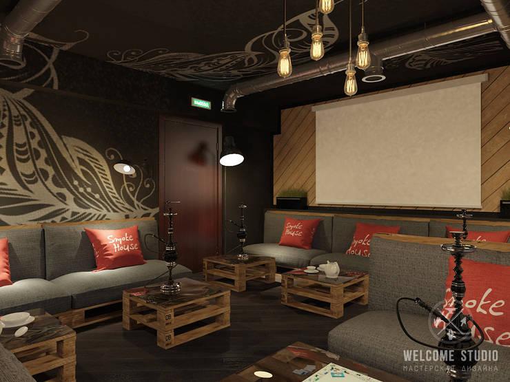 Кальянная ракурс 4: Бары и клубы в . Автор – Мастерская дизайна Welcome Studio