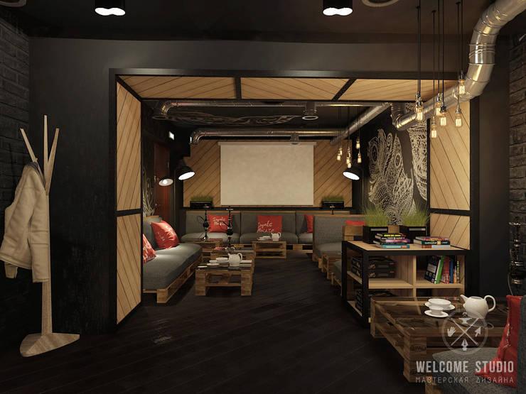 Кальянная ракурс 6: Бары и клубы в . Автор – Мастерская дизайна Welcome Studio