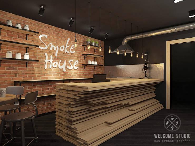 Кальянная ракурс 7: Бары и клубы в . Автор – Мастерская дизайна Welcome Studio