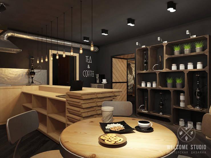 Кальянная ракурс 9: Бары и клубы в . Автор – Мастерская дизайна Welcome Studio