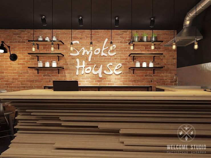 Кальянная ракурс 10: Бары и клубы в . Автор – Мастерская дизайна Welcome Studio