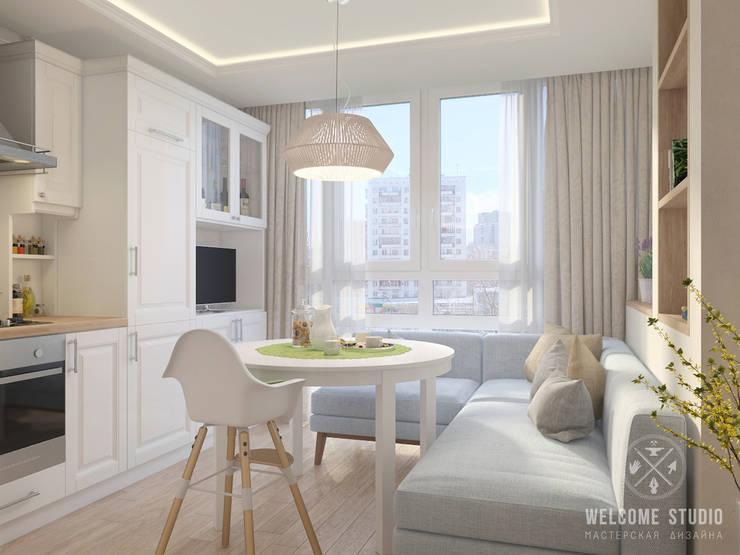 scandinavische Keuken door Мастерская дизайна Welcome Studio